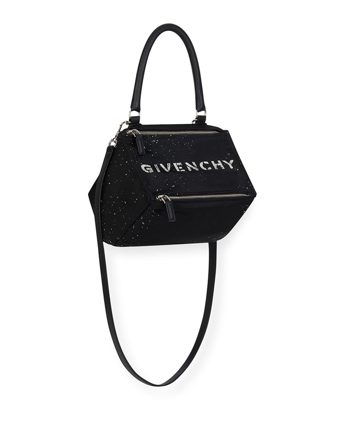 6dd95e902977 Lyst - Givenchy Small Pandora Bag in Black