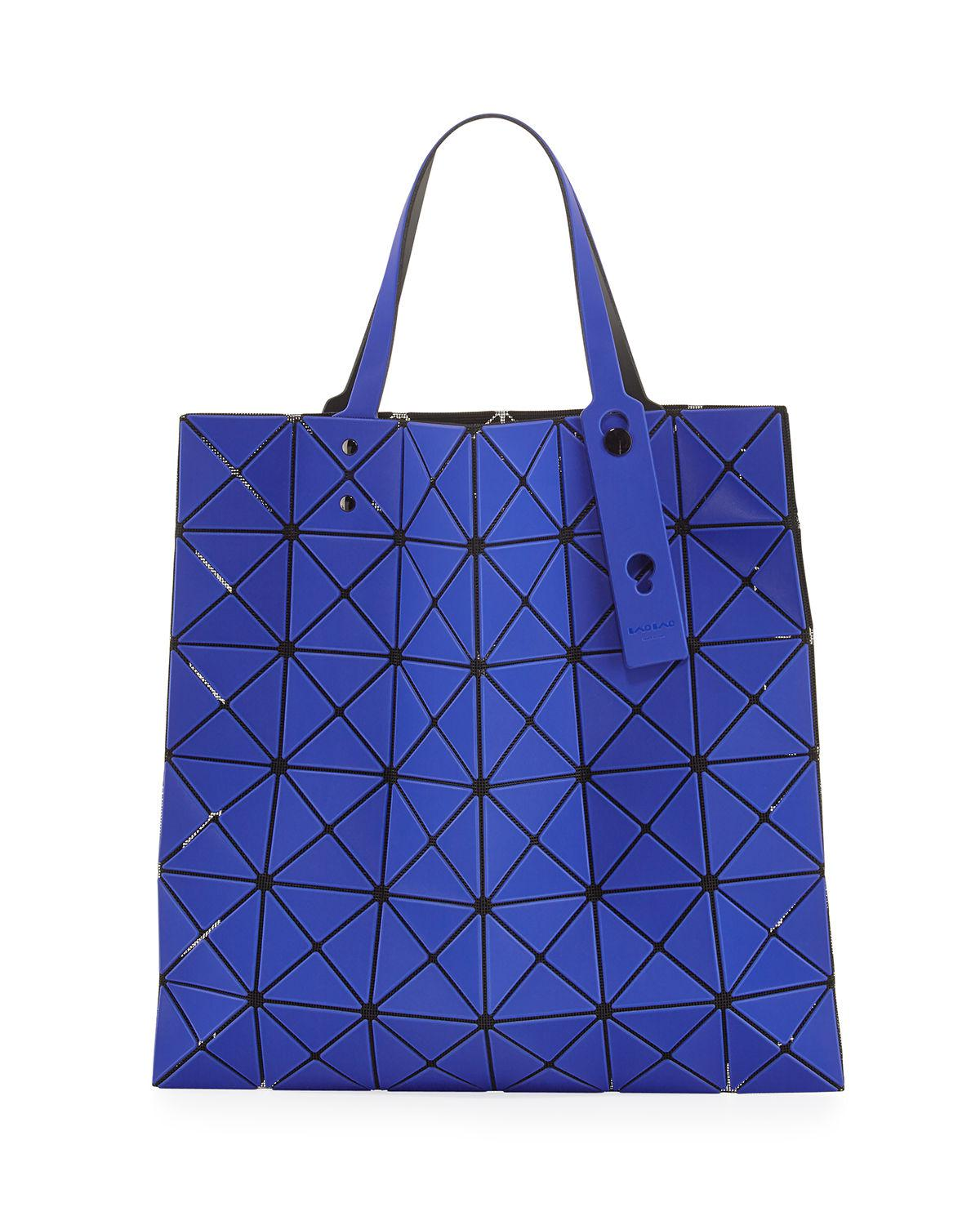 c57e2d447a75 Lyst - Bao Bao Issey Miyake Lucent Frost Tote Bag in Blue