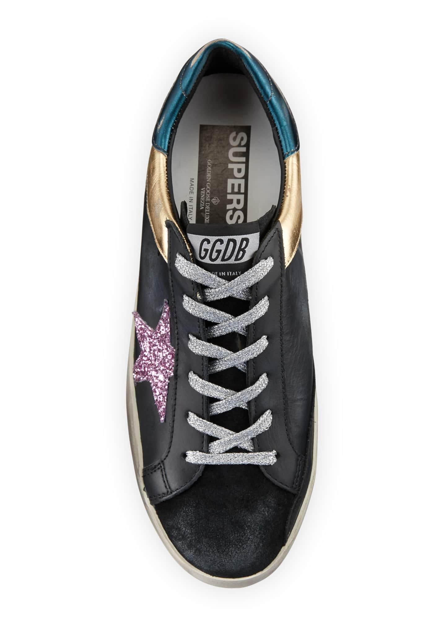 Goose Superstar Multi Metallic Sneakers