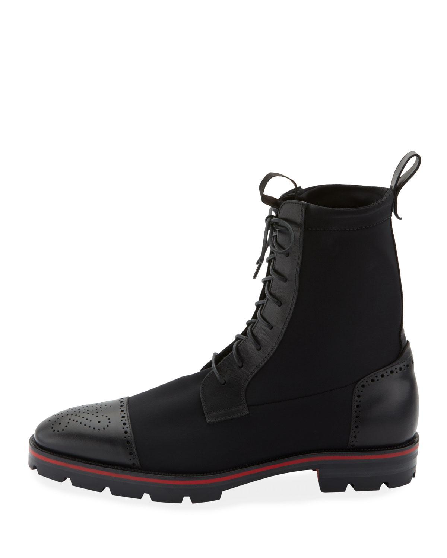 pretty nice 6213a 6c2b6 Black Men's Sockroc Waxed Neoprene Boots