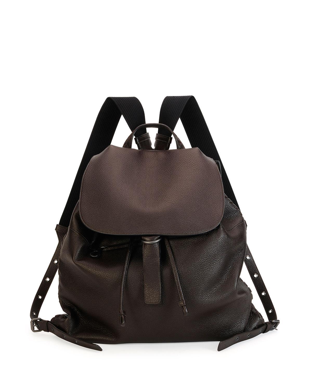 6fdd4977ce Lyst - Bottega Veneta Black Woven Backpack in Black for Men