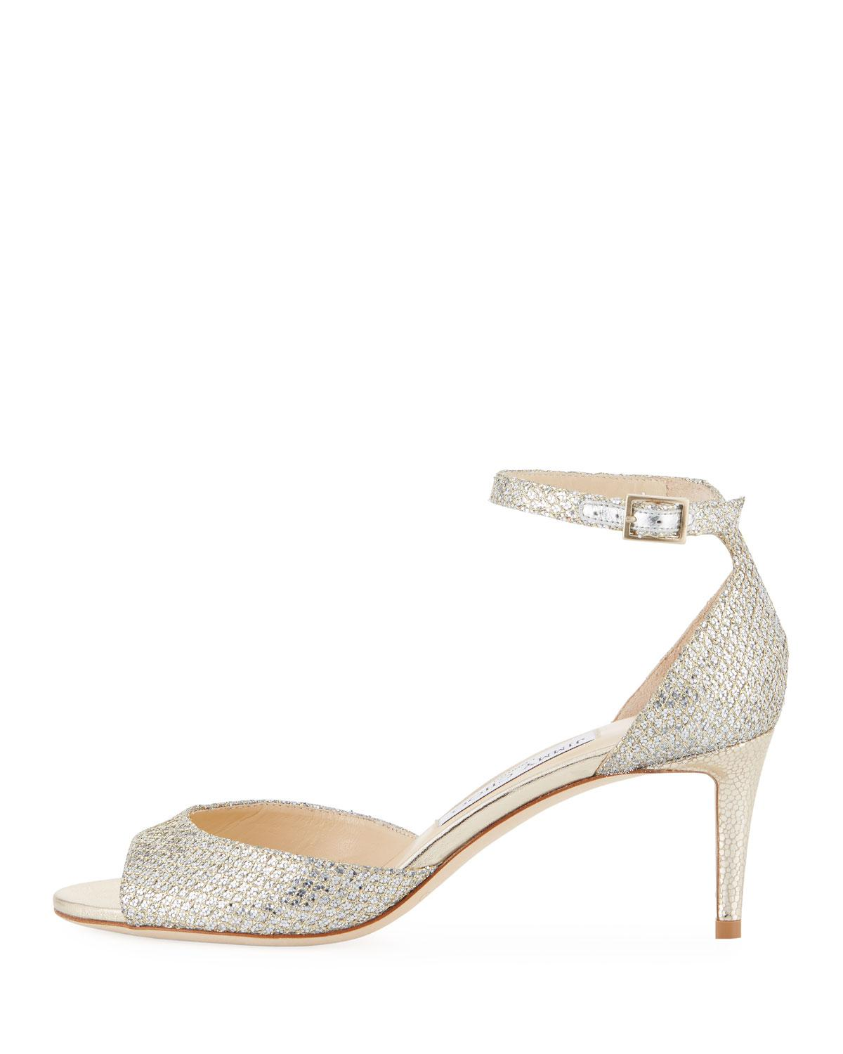 d390bf463a0 Gallery. Previously sold at  Bergdorf Goodman · Women s Jimmy Choo Glitter  ...