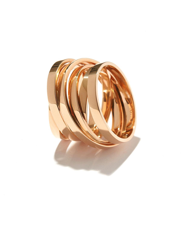 Repossi Berbère Technical Ring in 18K Rose Gold X8ohG