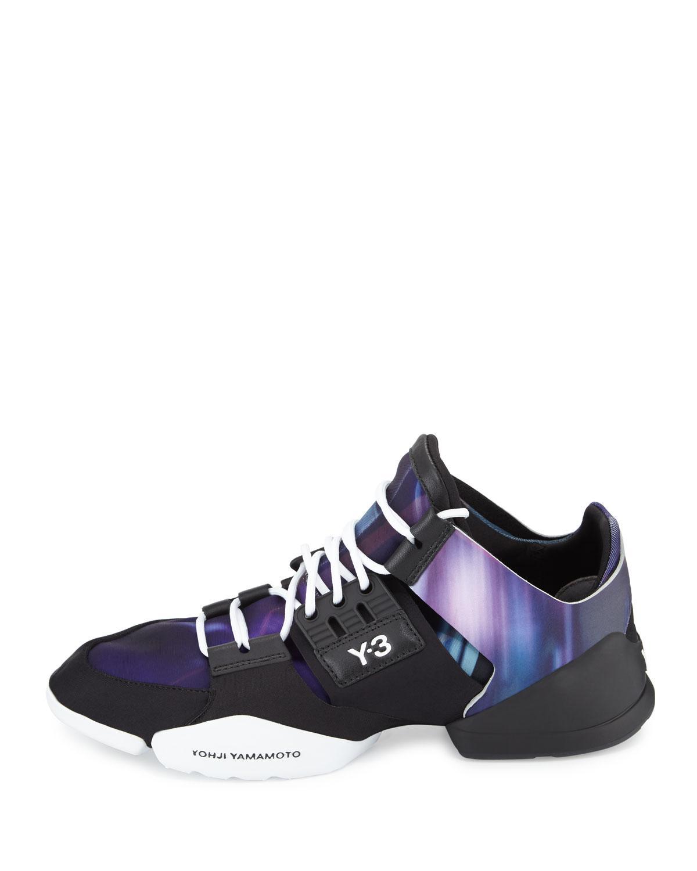e31d444925ca7 Lyst - Y-3 Kanja Stretch Sneaker in Purple