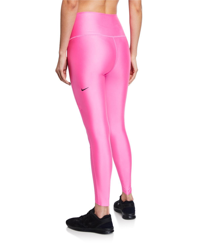 Tag $20 Nike Girls Power Graphic Training Shirt Polarized Pink