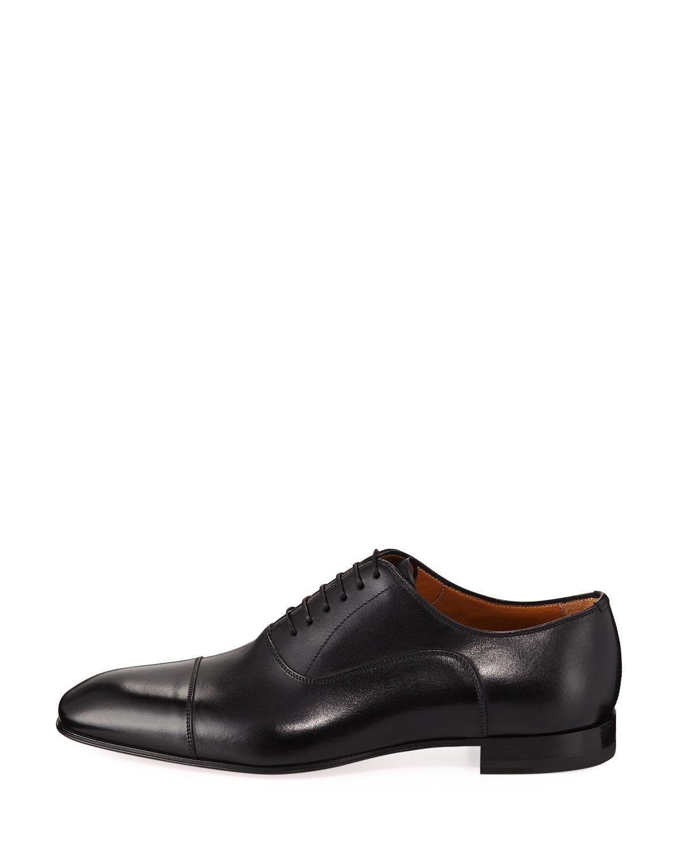 3a8d0ca9bde Black Greggo Men's Lace-up Leather Dress Shoe