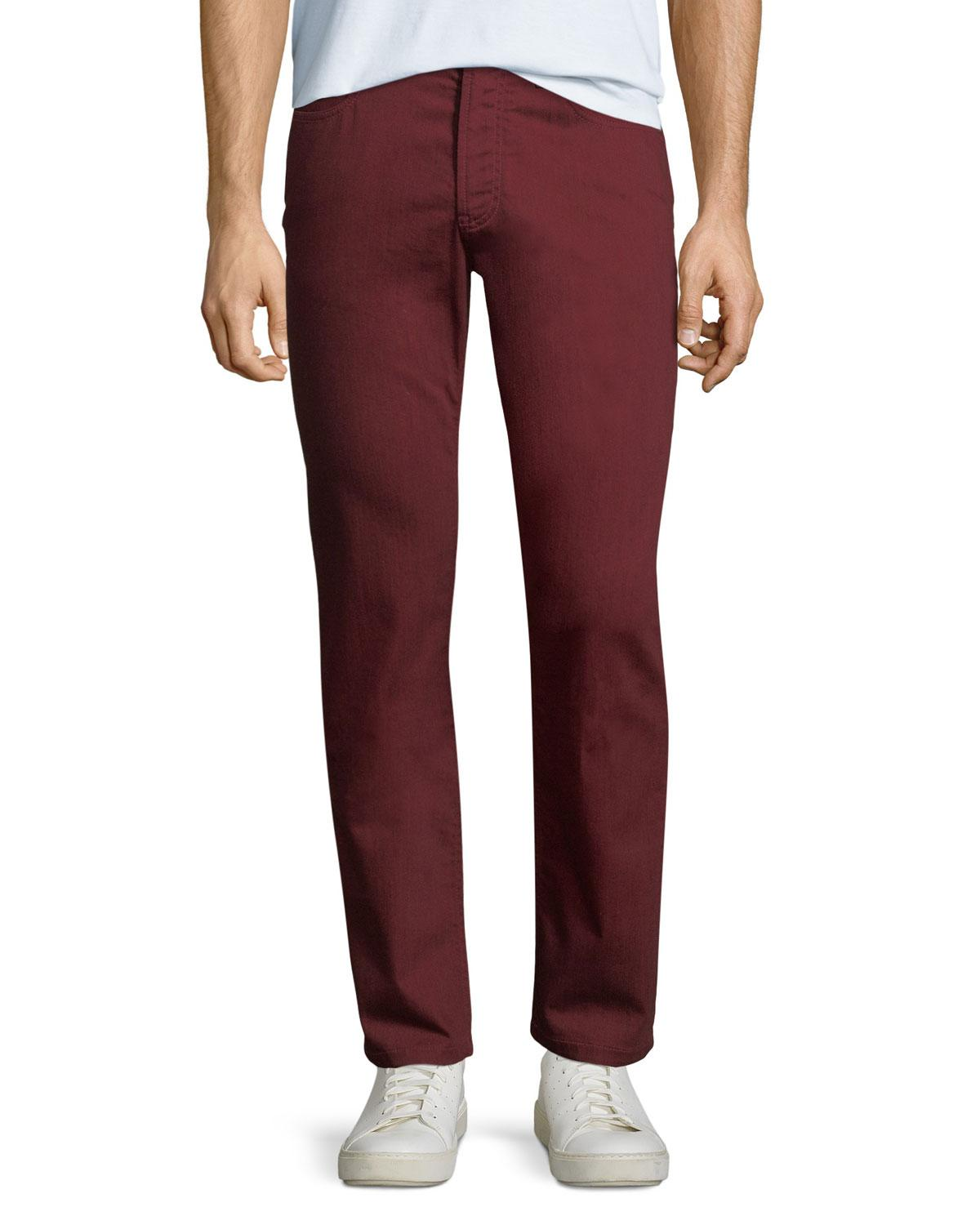 6c2965f789 Red Men's Stretch-cotton Twill Pants