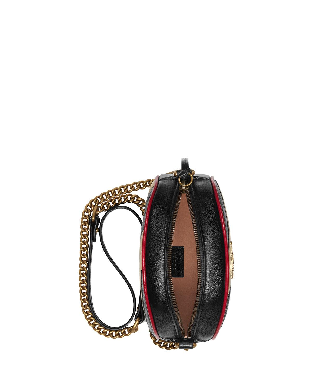 fc6d23120 Gucci GG Marmont Shoulder Bag in Black - Lyst