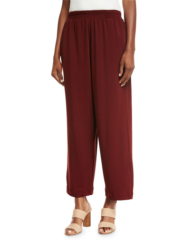 4abadd8eed3 Lyst - Eskandar Pima Cotton Japanese Trousers in Red