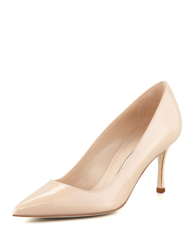 7ed525353074 Manolo Blahnik. Women s Bb 70mm Patent Leather Pump