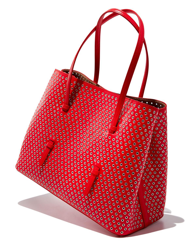 0fedd03fe Lyst - Alaïa Classic Laser-cut Tote Bag in Black