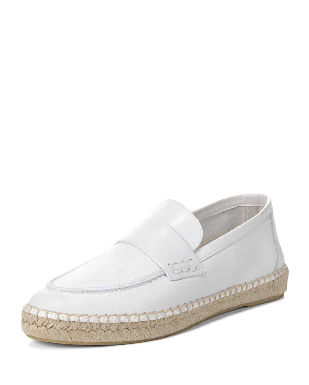 Vince Women's Daria Leather Espadrille Loafers MJv0iXZV
