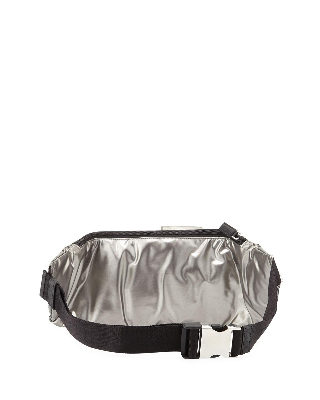 25d410d9ac5 Lyst - Prada Men s Nylon Pocket Belt Bag in Gray for Men