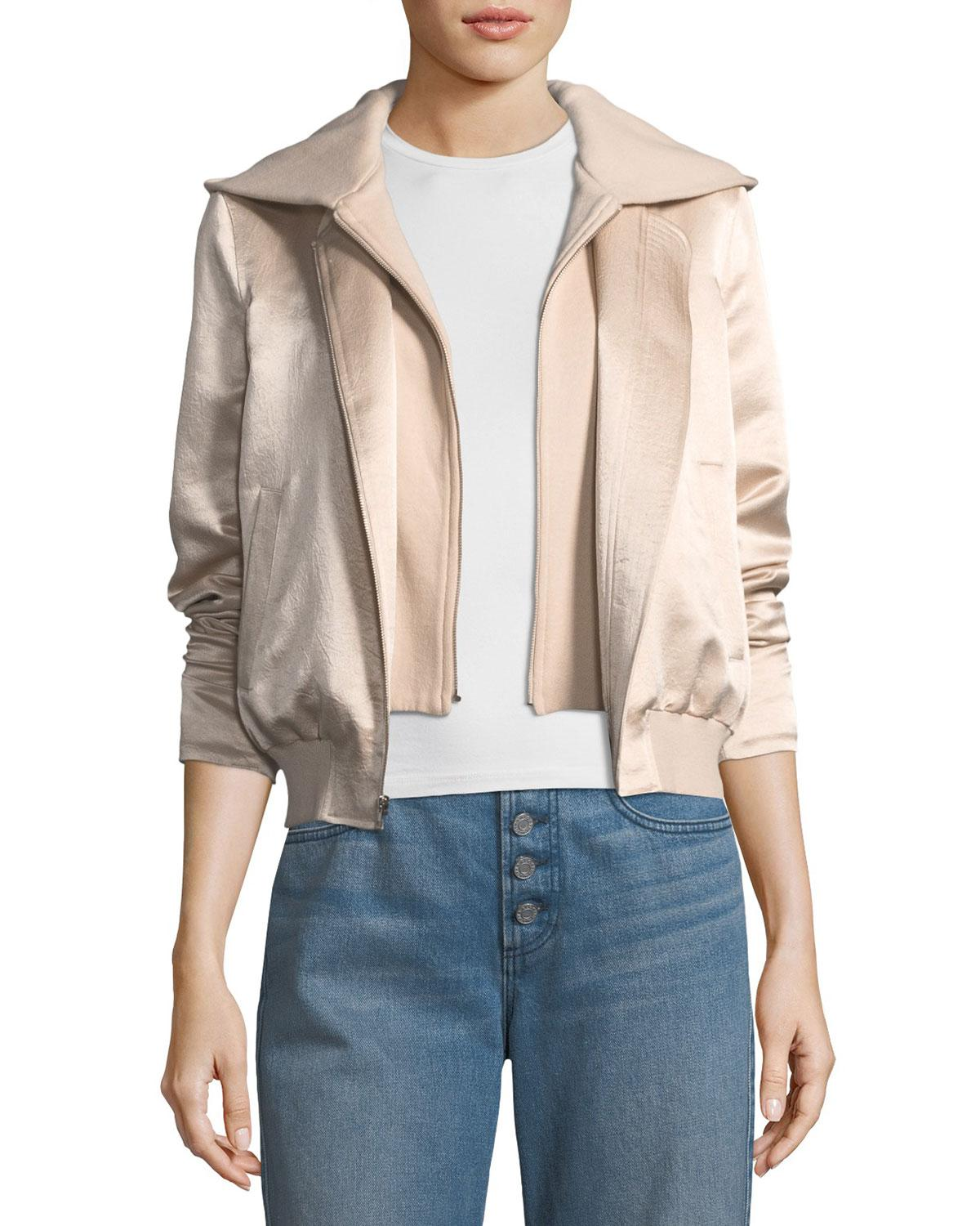 A.L.C. Lightweight Bomber Jacket w/ Tags Cheap Sale Low Shipping Fee 1vsyLn