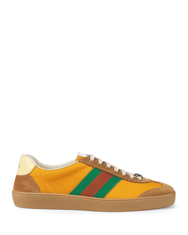 Gucci Synthetic Jbg Retro Nylon Sneaker