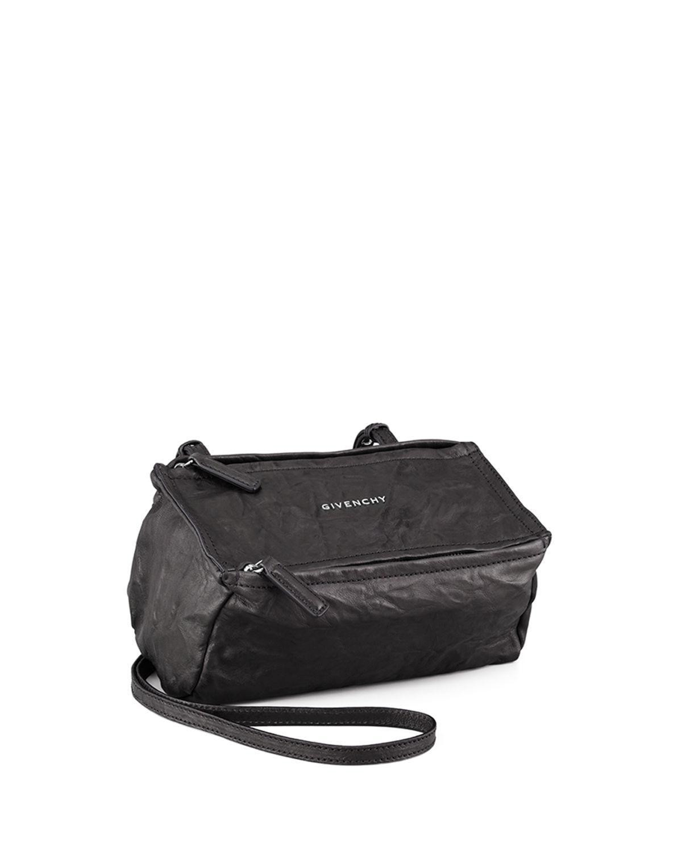 112a8c6b52dd Givenchy - Black Pandora Mini Leather Crossbody Bag - Lyst. View fullscreen