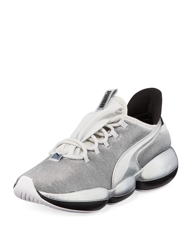 quality design 996b3 d2972 PUMA. Women s Gray Mode Xt Metallic Knit Sneakers