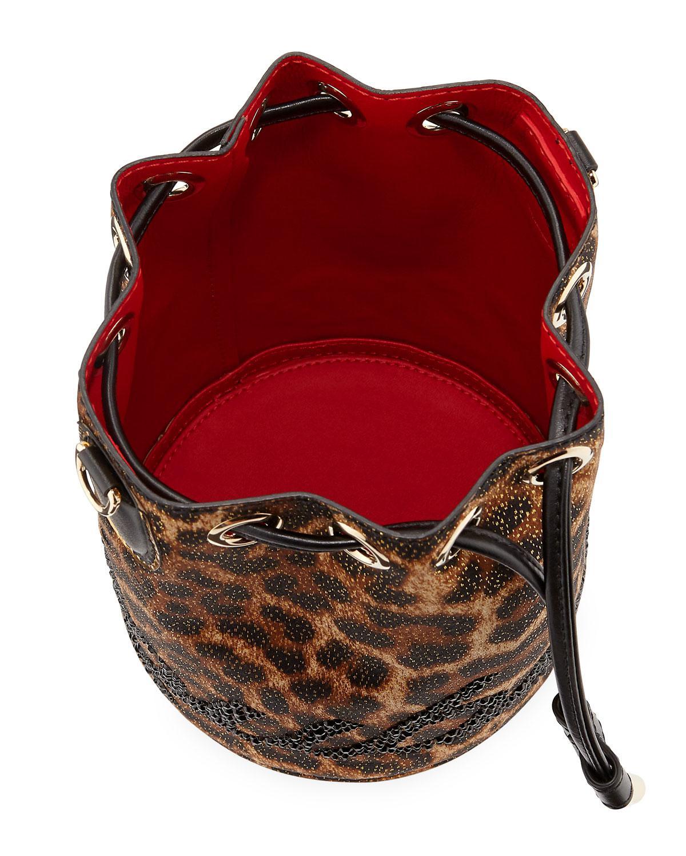 49e021d10acb Lyst - Christian Louboutin Marie Jane Lurex Bucket Bag