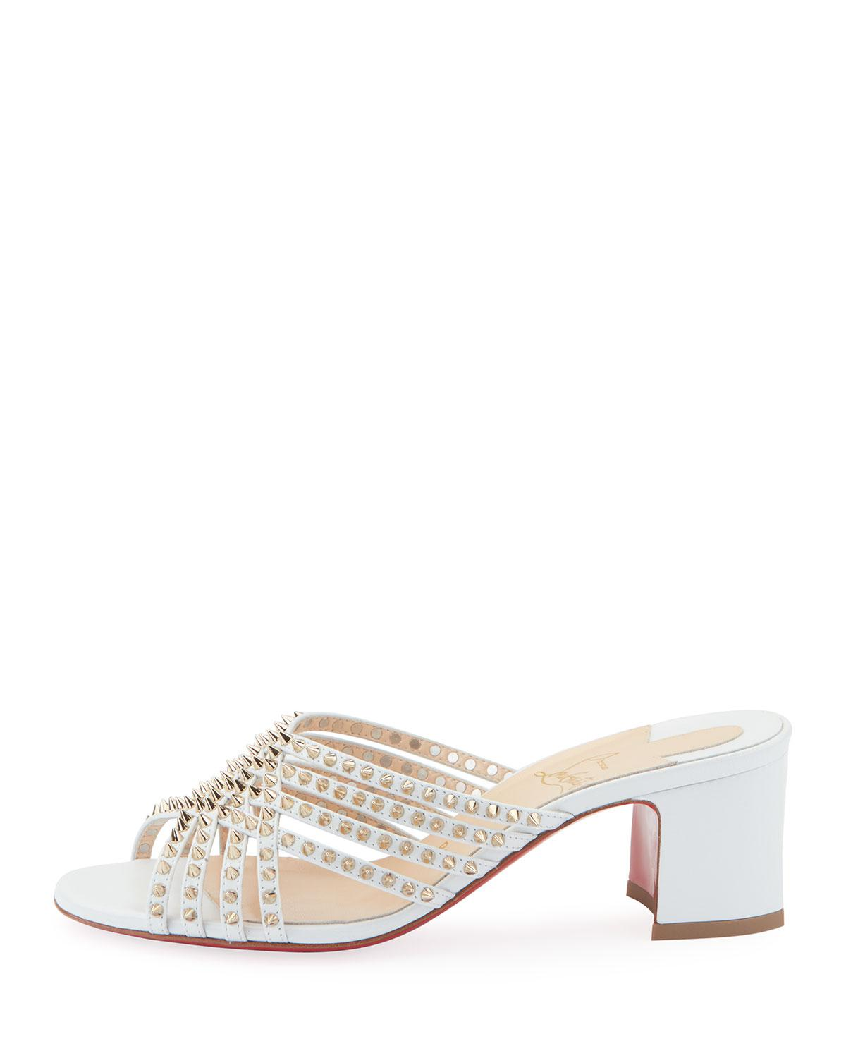 Red Sole Sandals