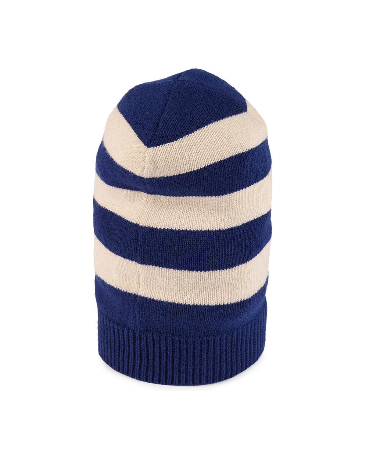 Striped wool hat - Blue Gucci yby1bY0G
