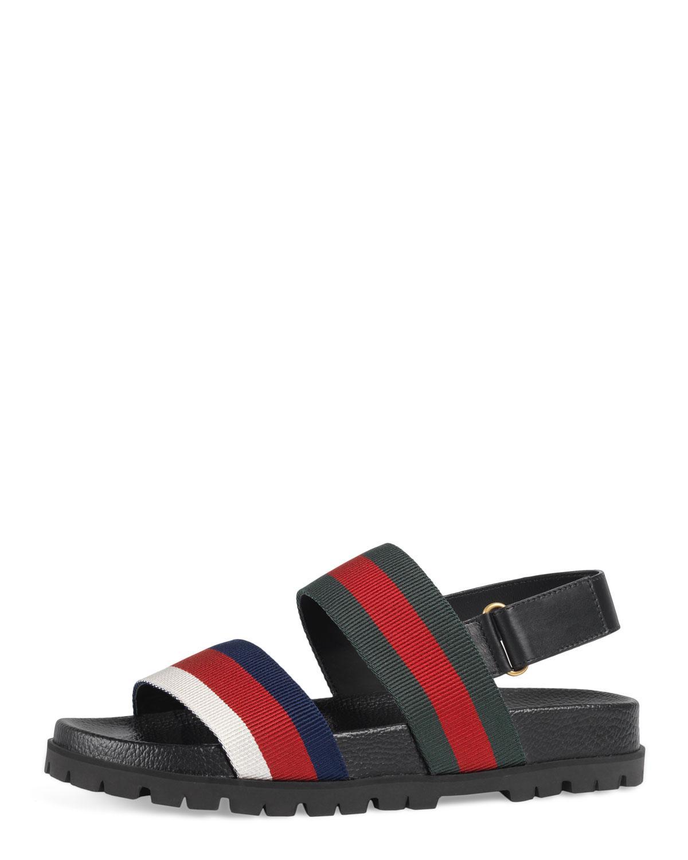 Lyst Gucci Rimini Double Strap Sandal For Men