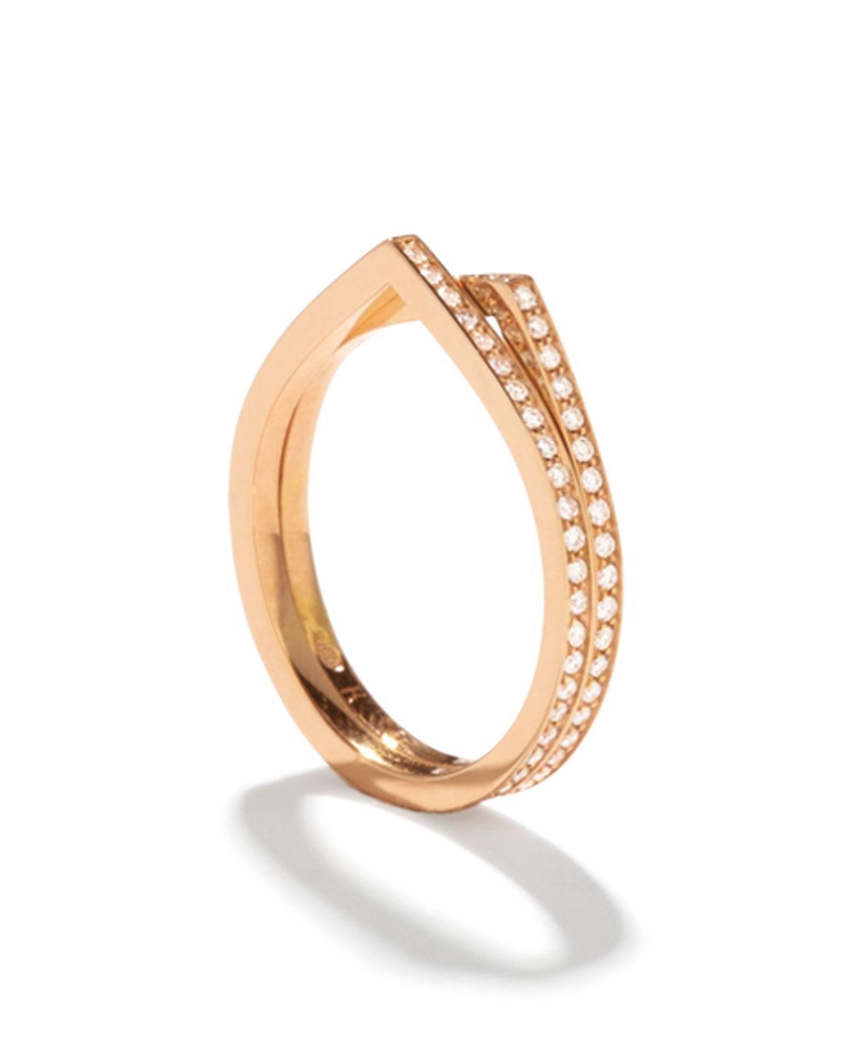 Repossi Antifer Ring in 18K Gold XLzdgI