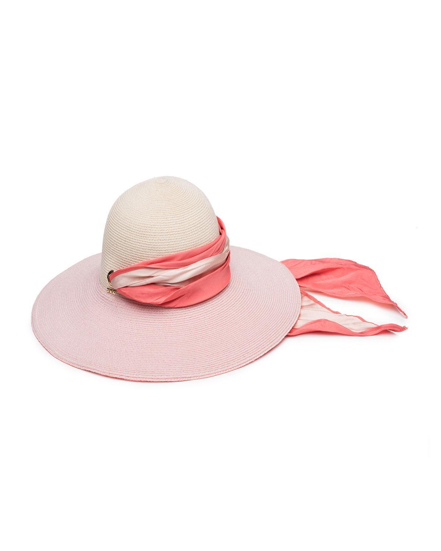 86d7deb0a5072 Eugenia Kim Honey Floppy Hemp Sun Hat With Satin Band in Pink - Lyst