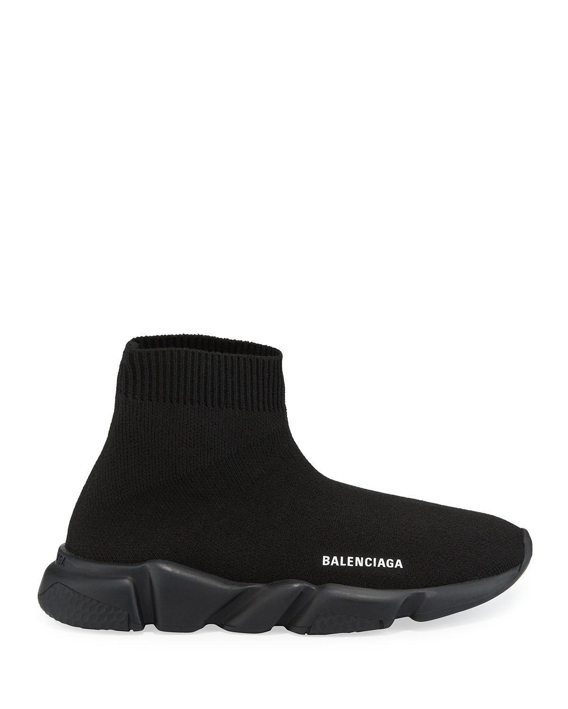 Trainer Sock Sneakers in Black for Men