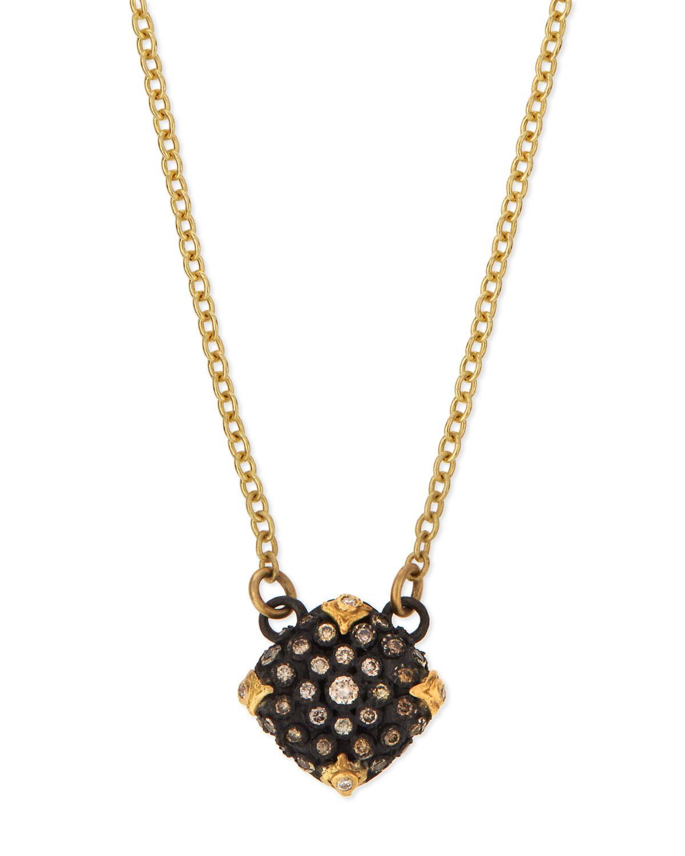 Armenta Old World Midnight Pavé Diamond Cushion Necklace qfc0uGuf