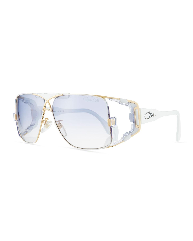f43574850a7 Lyst - Cazal Men s Acetate metal Wrap Sunglasses for Men