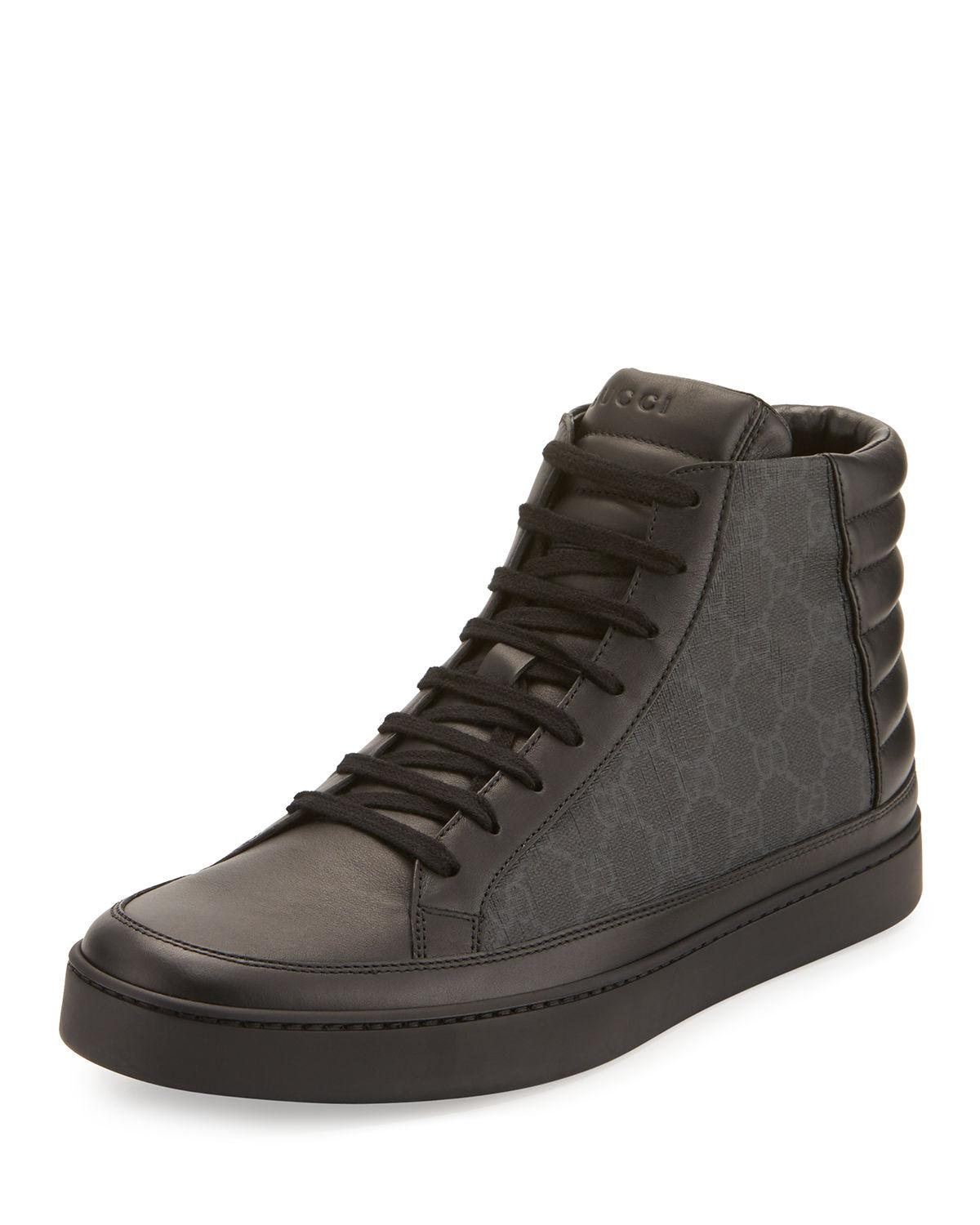 gucci shoes all black
