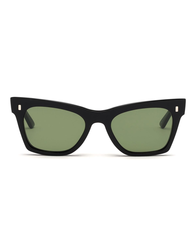 e687d7753af Lyst - Céline Acetate Cat-eye Sunglasses in Black