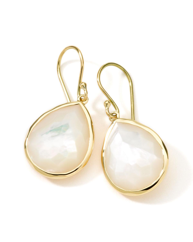Ippolita 18K Rock Candy Mother-of-Pearl Teardrop Earrings oe6lM