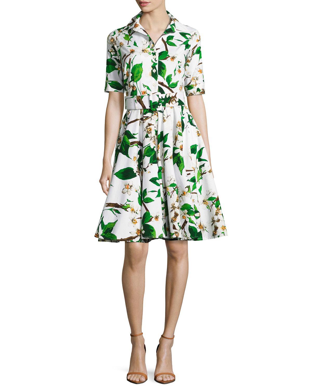White floral pattern dress Samantha Sung NWgbG