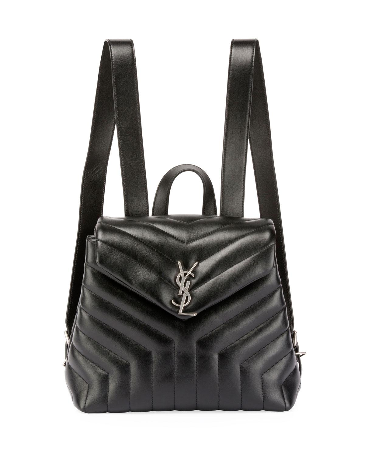 Small Black Quilted Backpack- Fenix Toulouse Handball 84a0a07641bea