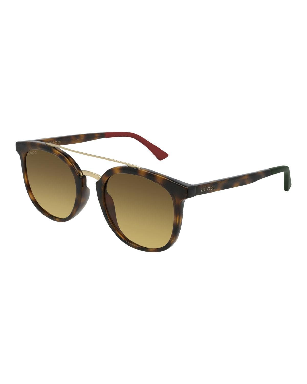 220154c65 Gucci - Brown Men's GG0403SA003M Injection Sunglasses for Men - Lyst. View  fullscreen