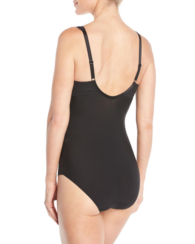 bdbb4dba76 Chantelle Montsouris Lace Bodysuit in Black - Lyst