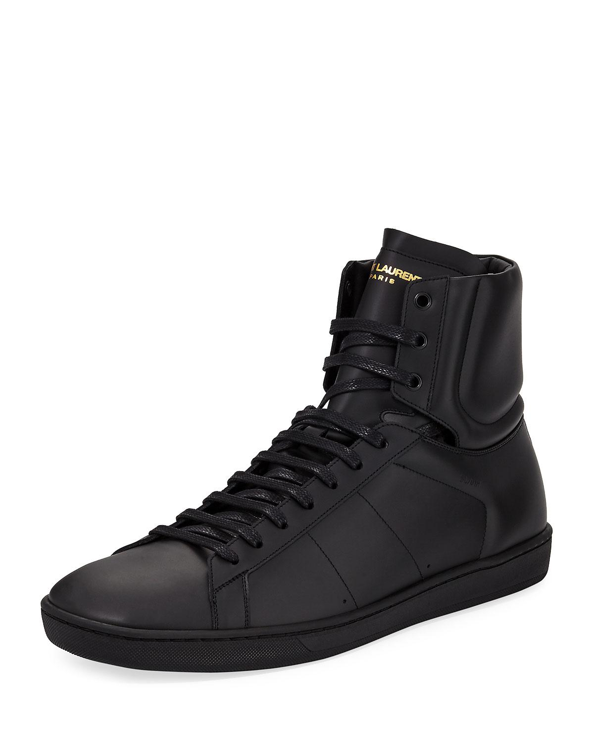 signature court classic SL/10H high top sneakers - Black Saint Laurent LqYF5