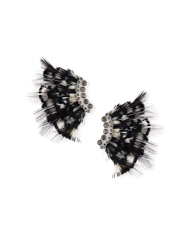 Mignonne Gavigan Leather Lux Feather Mini Madeline