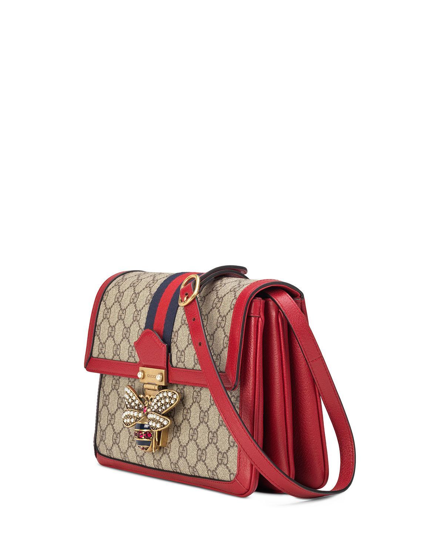 Gucci Queen Margaret Medium GG Supreme Shoulder Bag LUZaAuI8