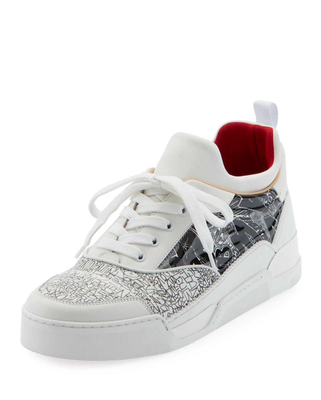 premium selection fc261 9b605 White Men's Aurelien Multimedia Low-top Sneakers