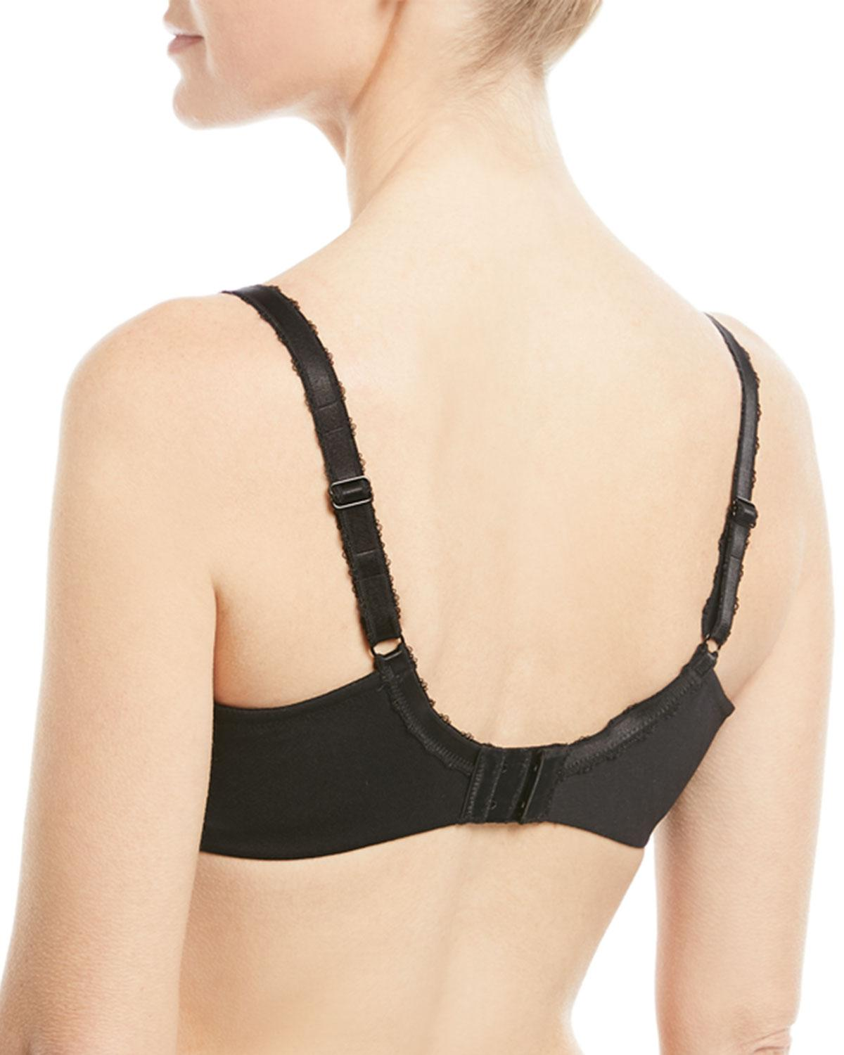 1feb7ff36a Lyst - Wacoal Top Tier Lace Underwire Bra in Black - Save 70.0%