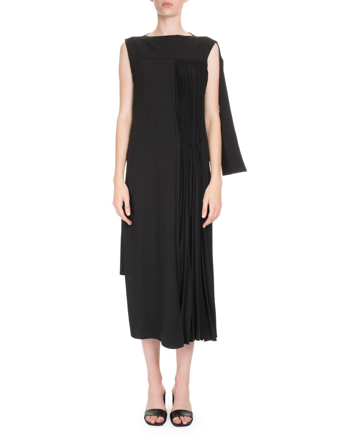Clearance Outlet Store 2018 Discount Black asymmetric dress Loewe Choice Cheap Online GWiLMxFd
