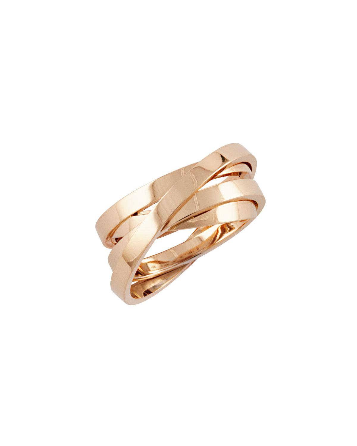 Repossi Berbère Technical Ring in 18K Rose Gold PoL8CxH3ef