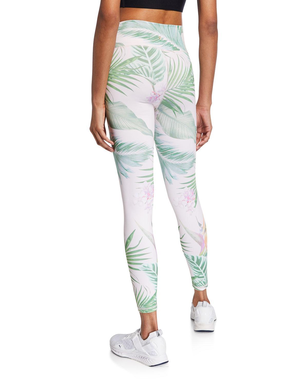 4f8152097d6f1 Spiritual Gangster Tropical Leaf-print Perfect High-waist Leggings - Lyst