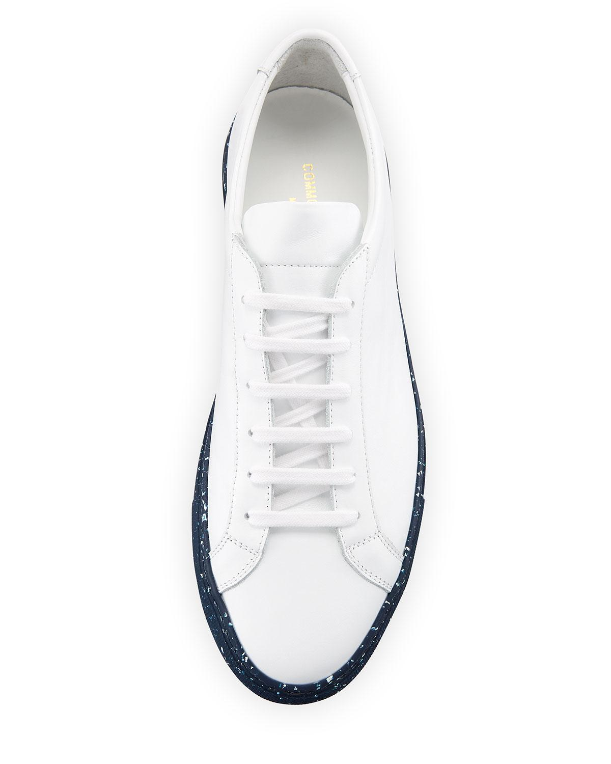 778db6fdcdf3 Lyst - Common Projects Men s Achilles Leather Low-top Sneakers With ...