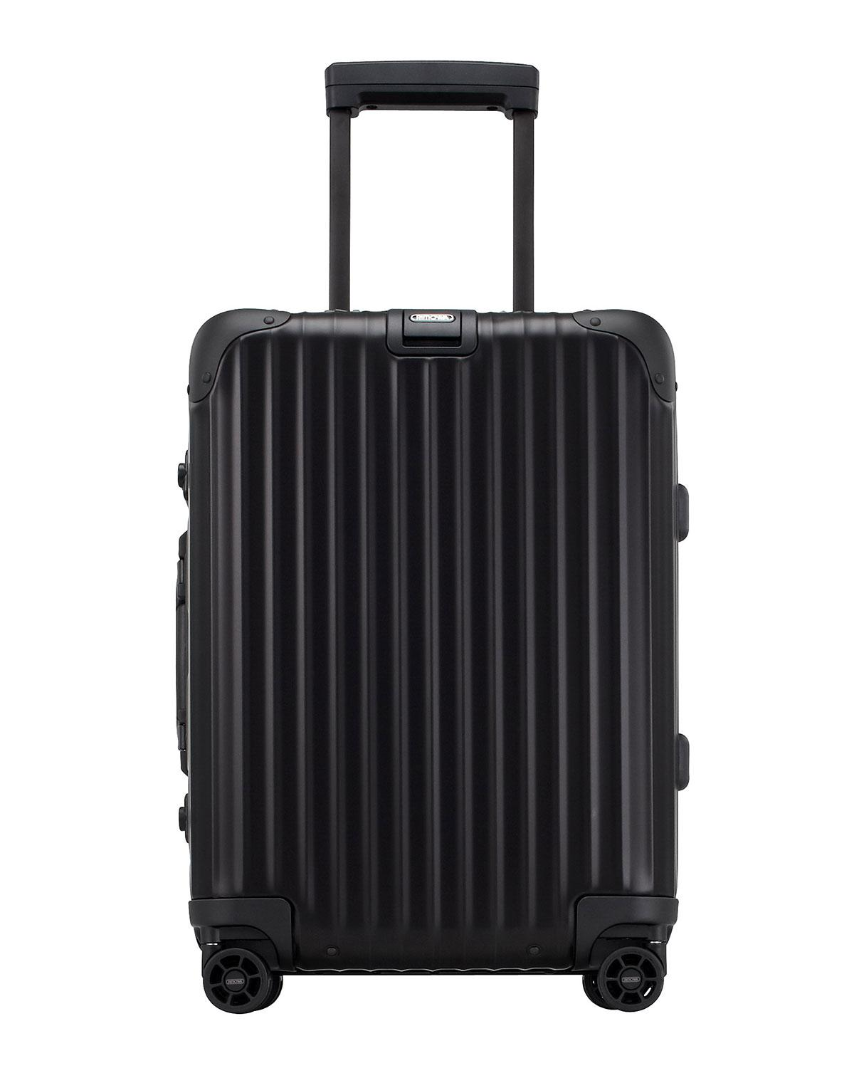 rimowa topas stealth cabin multiwheel in black lyst. Black Bedroom Furniture Sets. Home Design Ideas