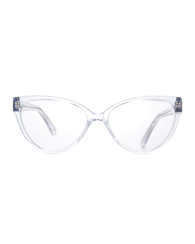 a548e3c0345 Lyst - Prism Cannes Cat-eye Optical Frames