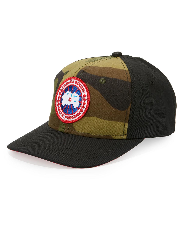 5dfb1e6f755 Lyst - Canada Goose Men s Logo Baseball Cap in Black for Men