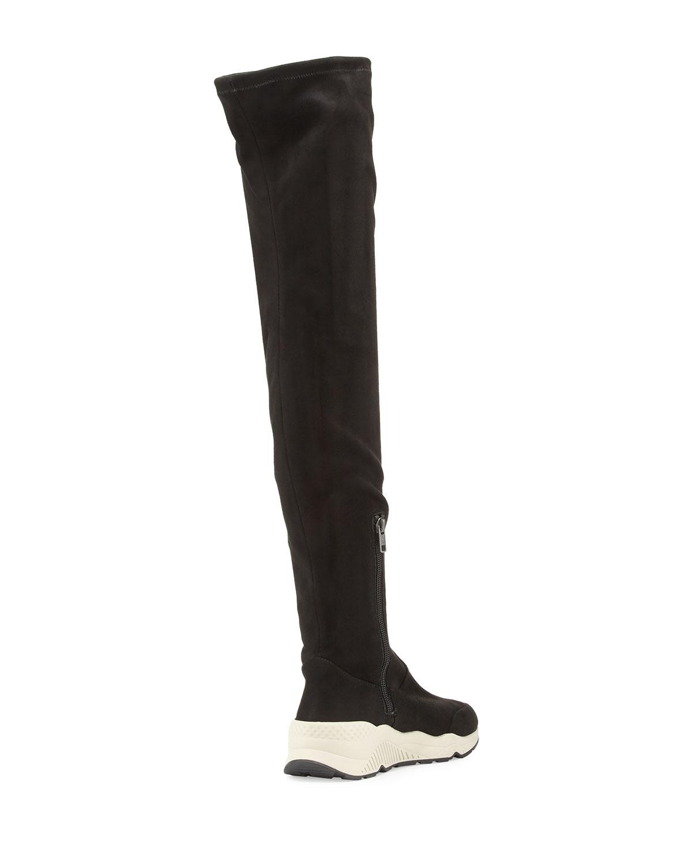 knee Sneaker Boot
